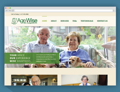 Agewise Care Management Website