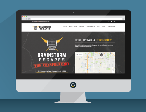 Brainstorm Escapes Website