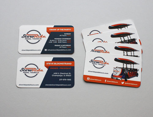 Slowride Business Cards
